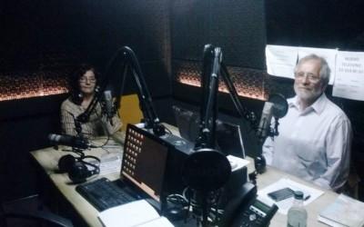 Entrevista a Raúl Valenzuela y Ximena Vargasen en Radio Valparaíso